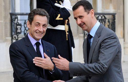 Syrie-Bachar-el-Assad-Nicolas-Sarkozy